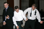 Rock 'N' Roll Trio With Hi Tec Entertainment At A Wedding Disco in The Hilton Hotel, Glasgow